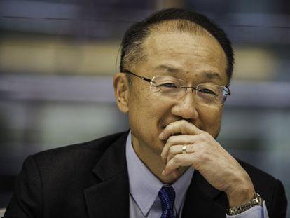 Jim Yong Kim, presidente del Banco Mundial, esta semana en washington