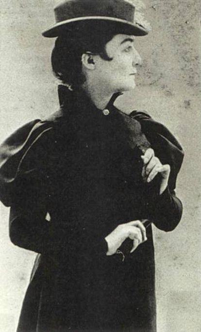 Marguerite Vallette-Eymery en 1895.