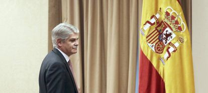 Spanish Foreign Minister Alfonso Dastis.