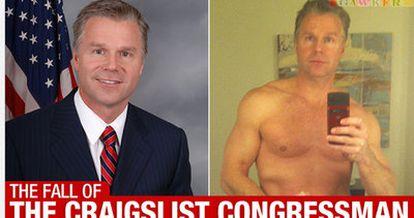 El congresista republicano por Nueva York Christopher Lee.