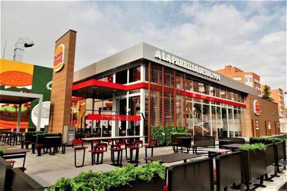 Restaurante Burger King en Madrid, en una imagen de archivo.