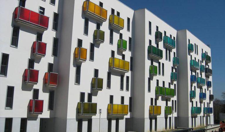 Bloque de viviendas sociales en Sestao (Vizcaya)