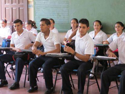 Estudiantes de Nicaragua.