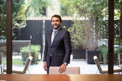 Luis Artero, en la sede de JP Morgan en Madrid