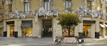 Tienda de Zara en el Paseo de Gracia de Barcelona