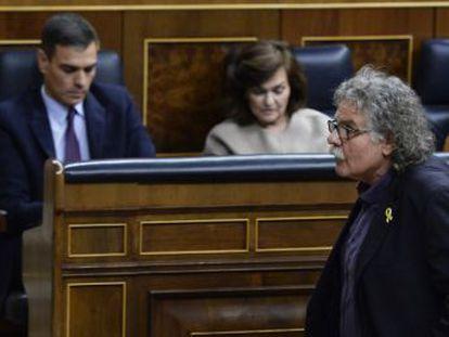 Sánchez anunciará el viernes su decisión sobre las elecciones. ERC y el PDeCAT votan con el PP y Ciudadanos la devolución de las cuentas públicas