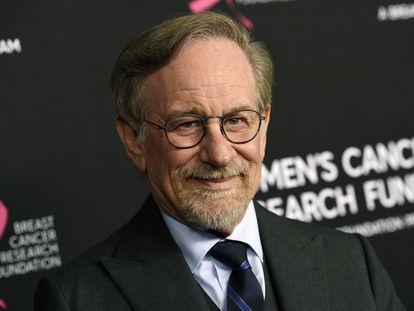 Steven Spielberg, en Beverly Hills en febrero de 2019.