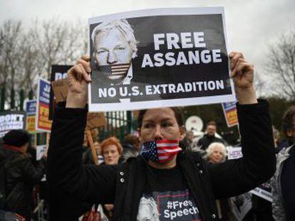 Comienza en Londres el jucio de extradición contra el hacker internacional