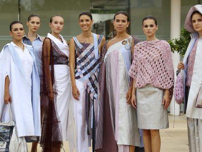 Diseños de Begoña Chaves, que se presentan durante el evento Mallorca Design Day.