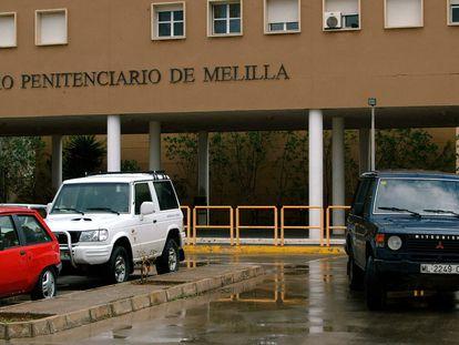 Exterior del centro penitenciario de Melilla.