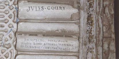 Uno de los grafitis del siglo XIX.