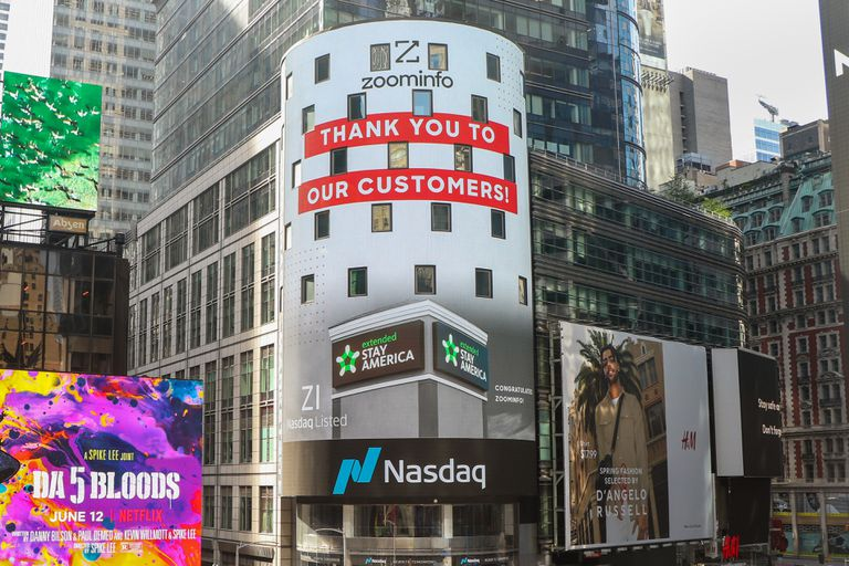 Salida a Bolsa de ZoomInfo Technologies, el pasado 4 de junio.