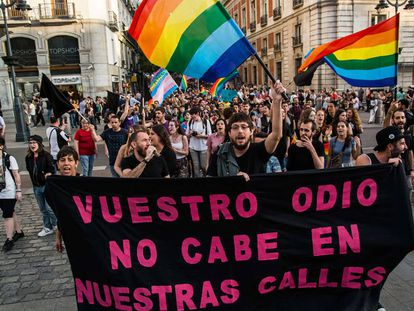 Marcha con motivo del Día Internacional contra la Homofobia, Transfobia y Bifobia