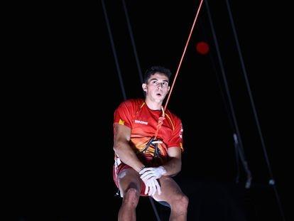 Alberto Ginés, durante los Juegos Olímpicos de Tokio 2020.