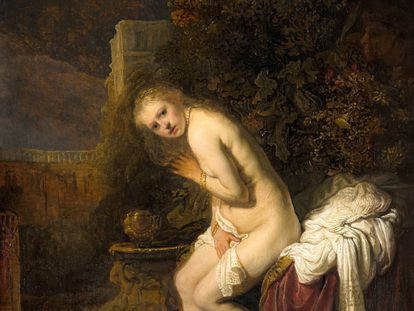 Susanna', uno de los cuadros de Rembrandt analizados.