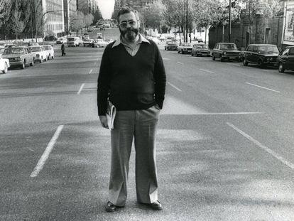 Luis Otero Fernández, en una fotografía de mayo de 1977.