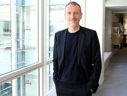 Emmanuel Faber, presidente de Danone, en la sede de la compañía en París.