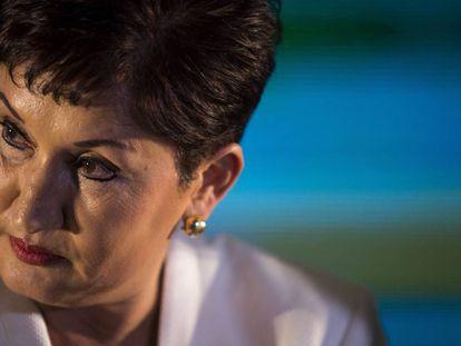 La exfiscal general de Guatemala, Thelma Aldana, en marzo pasado.