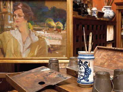 Retrato inacabado de Mabel Rick, Joaquín Sorolla.