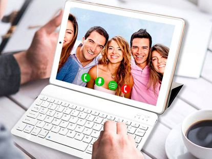 Esta tablet con pantalla HD de 10 pulgadas incluye teclado, ratón y funda.