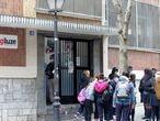 10-02-21- Colegio Hijas de la Cruz en Bilbao 8foto: Fernando Domingo-Aldama