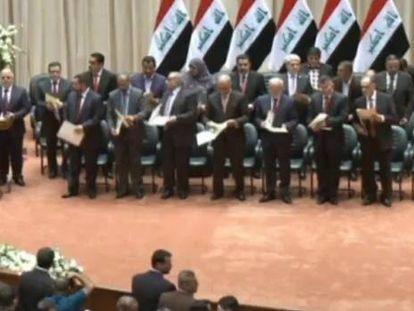 Al Abadi forma gobierno en Irak con su antecesor Al Maliki como vicepresidente