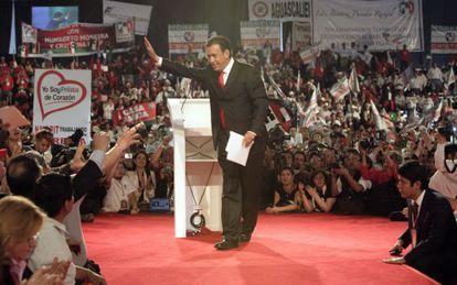 El exgobernador de Coahuila, Humberto Moreira, en 2011.