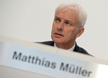 Matthias Müller, presidente ejecutivo de Volkswagen.