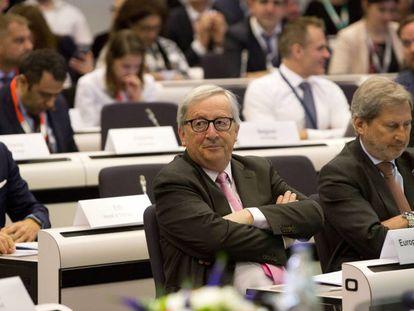 Jean-Claude Juncker, el 14 de mayo en Bruselas.