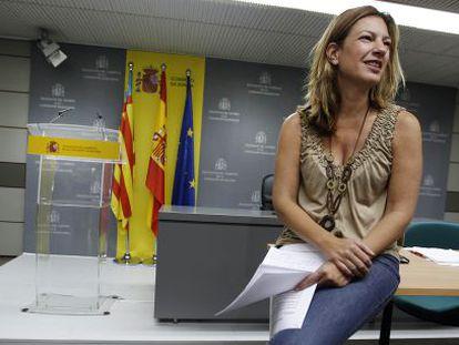 La delegada de Gobierno en la Comunidad Valenciana, Paula Sánchez de León.