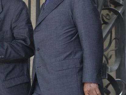 José Luis Núñez sale de la Audiencia de Barcelona