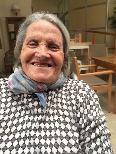 María Luisa Ortega, de 88 años, fallecida en la Casa Asil, en Barcelona.