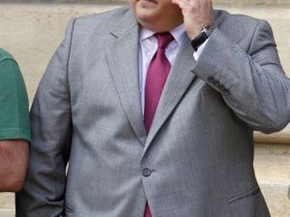 El exconsejero, expresidente del Poder Judicial y magistrado Fernando de Rosa.