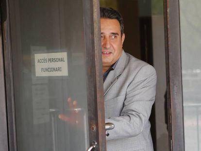 Manuel Bustos, en los juzgados de Sabadell en 2014.