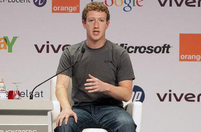 Mark Zuckerberg, en París.