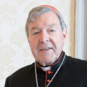 Vatican City (Vatican City State (holy See)), 12/10/2020.- A handout picture provided by the Vatican Media shows Pope Francis speaking with Cardinal George Pell, Prefect Emeritus of the Secretariat for the Economy, during the audience he granted him, in Vatican City, 12 October 2020. (Papa) EFE/EPA/VATICAN MEDIA HANDOUT HANDOUT EDITORIAL USE ONLY/NO SALES