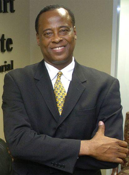Conrad Murray, médico personal de Michael Jackson, en 2006.