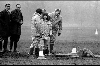 Una imagen de la serie documental 'El destripador de Yorkshire'.