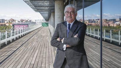 José Bogas, consejero delegado de Endesa, en la sede de la compañía.