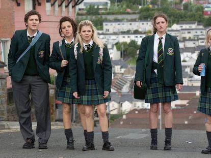 Imagen de la serie británica 'Derry Girls'.