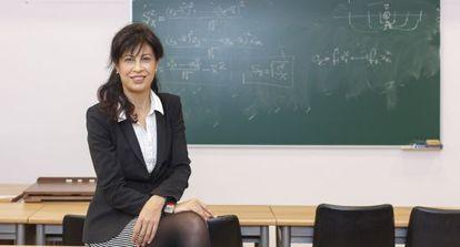 Ana Redondo, profesora y procuradora en las Cortes de Castilla y León, el pasado viernes en la Facultad de Derecho de Valladolid.