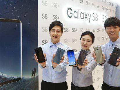 El Samsung Galaxy S8 es la última apuesta de la marca coreana.