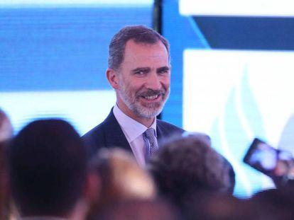 Felipe VI, en el XII Encuentro Empresarial Iberoamericano, en Antigua (Guatemala). En vídeo, declaraciones de Felipe VI en su discurso en la Cumbre Iberoamericana.
