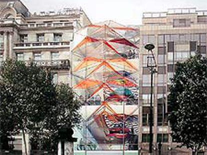 Manuelle Gautrand renovará la imagen del histórico escaparate de Citroën en los Campos Elíseos de París.