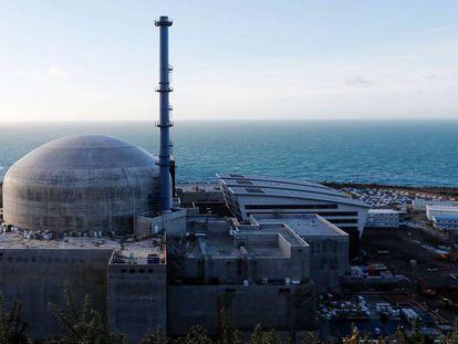 Central nuclear de Flamanville, al noroeste de Francia.