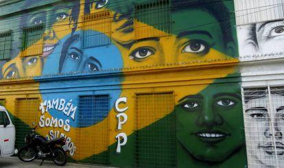Fachada del Centro Comunidad Pequenos Profetas, en el barrio de São José de Recife (Pernambuco, Brasil).