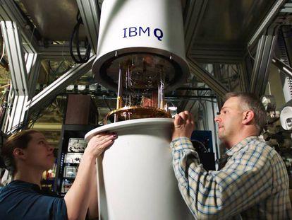Los IBM Q requieren temperaturas cercanas al cero absoluto.