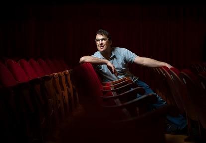 El actor Luis Merlo, en el teatro Cofidis el pasado septiembre.