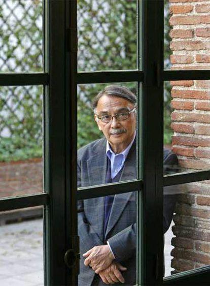 Eugenio Montejo, en la Residencia de Estudiantes.
