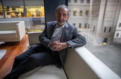 Manuel Borja-Villel, en su despacho durante la entrevista.